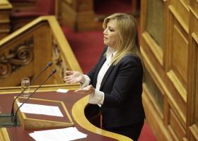 Γεννηματά: Grexit ή μόνιμη λιτότητα το δίλημμα του Τσίπρα - Κεντρική Εικόνα