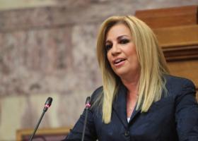 Γεννηματά: Ετερόκλητος συνεταιρισμός που τρίζει η κυβέρνηση ΣΥΡΙΖΑ-ΑΝΕΛ - Κεντρική Εικόνα