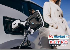 Δίκτυο 320 φορτιστών ηλεκτροκίνησης εγκαθιστά η αλυσίδα ΜyMarket σε 160 καταστήματα - Κεντρική Εικόνα