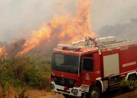 Πυρκαγιά στην πόλη της Ζακύνθου - Κεντρική Εικόνα