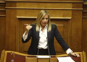 Γεννηματά: Ένα ακόμη πολιτικό έγκλημα των ΣΥΡΙΖΑ-ΑΝΕΛ το ν/σ για τη ΔΕΗ - Κεντρική Εικόνα