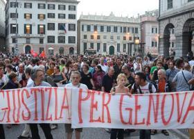 Καταδίκη της Ιταλίας για βασανιστήρια στη Γένοβα, κατά το G8 του 2001 - Κεντρική Εικόνα