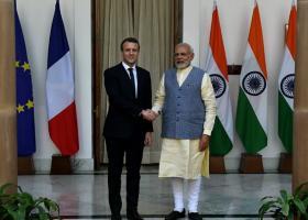 Εμπορικές συμφωνίες ύψους 13 δισ. ευρώ έκλεισαν Γαλλία και Ινδία  - Κεντρική Εικόνα