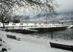 «Μάχη» με το χιόνι για να ανοίξουν οι δρόμοι στη Ήπειρο - Κεντρική Εικόνα
