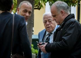 Ελεύθεροι αφέθηκαν μετά τις απολογίες τους οι Γιώργος και Φώτης Μπόμπολας - Κεντρική Εικόνα