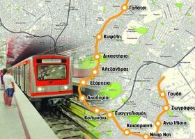 Στις 15/1 μετατέθηκε η κατάθεση προσφορών για τη Γραμμή 4 του Μετρό της Αθήνας - Κεντρική Εικόνα