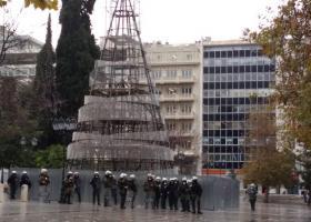 Ένταση στο μαθητικό-φοιτητικό συλλαλητήριο για τον Γρηγορόπουλο - Κεντρική Εικόνα