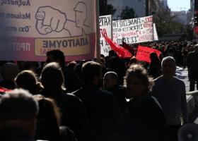 Εικοσιτετράωρη γενική απεργία της ΓΣΕΕ - Κεντρική Εικόνα