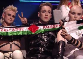 Eurovision 2019: Οι Ισλανδοί σήκωσαν κασκόλ στα χρώματα της Παλαιστίνης (video) - Κεντρική Εικόνα