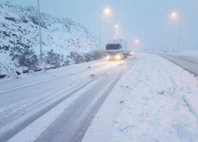 Αποκαταστάθηκαν τα προβλήματα στο εθνικό οδικό δίκτυο της περιφέρειας Πελοποννήσου - Κεντρική Εικόνα