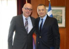 Συνάντηση των υφυπουργών Άμυνας Ελλάδας και Σερβίας - Κεντρική Εικόνα