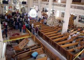Αίγυπτος: Λουτρό αίματος από τον ISIS σε χριστιανικές εκκλησίες - Τους 45 φτάνουν οι νεκροί! - Κεντρική Εικόνα