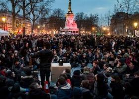 Πρώτη διαδήλωση μετά την εκλογή του Εμανουέλ Μακρόν στην προεδρία - Κεντρική Εικόνα