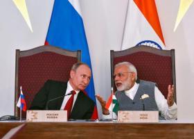 Στην υπογραφή 16 συμφωνιών διμερούς επιχειρηματικής και αμυντικής συνεργασίας, προχώρησαν Ινδία - Ρωσία - Κεντρική Εικόνα