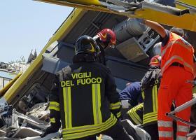 Σε ανθρώπινο λάθος οφείλεται πιθανόν το σιδηροδρομικό δυστύχημα στην Ιταλία - Κεντρική Εικόνα