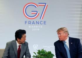 Συμφωνία Τραμπ-Άμπε για τις αρχές ενός εμπορικού deal - Κεντρική Εικόνα