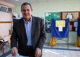 Ο Π. Καμμένος άσκησε το εκλογικό του δικαίωμα: Στην Ευρωβουλή, να εκλεγούν άνθρωποι που θέλουν να υπηρετήσουν την Ελλάδα - Κεντρική Εικόνα
