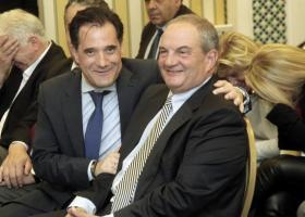 Συνάντηση του Κ. Καραμανλή με τον Άδ. Γεωργιάδη - Κεντρική Εικόνα