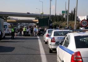 Πολλαπλή καραμπόλα με 8 οχήματα στη Θεσσαλονίκη - Κεντρική Εικόνα