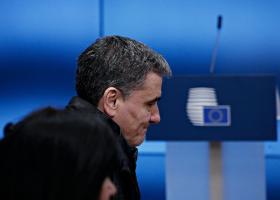 Επαφές στο περιθώριο του Eurogroup - Κεντρική Εικόνα