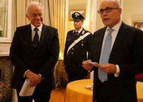 Παρασημοφόρηση Κοπελούζου από τον Πρόεδρο της Ιταλίας - Κεντρική Εικόνα