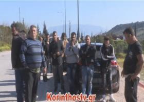 Επεισόδια στο δικαστικό μέγαρο Κορίνθου για τον δολοφόνο του Ρομά  - Κεντρική Εικόνα