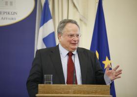 Θέμα εκδημοκρατισμού των δομών της ΕΕ έθεσε ο Ν. Κοτζιάς - Κεντρική Εικόνα