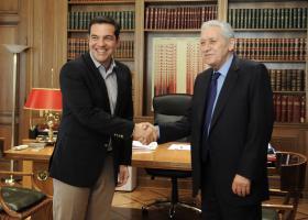 Συναντήσεις Τσίπρα για τον εκλογικό νόμο - Κεντρική Εικόνα