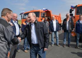Παρίσι και Κίεβο καταδικάζουν την κατασκευή της γέφυρας που συνδέει τη Ρωσία με την Κριμαία - Κεντρική Εικόνα