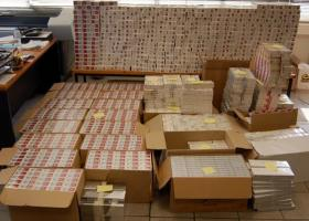 H EΛΑΣ κατάσχεσε 3.200 πακέτα λαθραίων τσιγάρων - Κεντρική Εικόνα