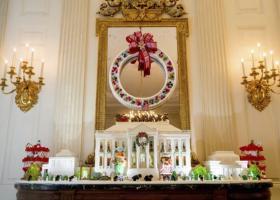 Χλιδή και υπερβολή στον χριστουγεννιάτικο στολισμό του Λευκού Οίκου (photos) - Κεντρική Εικόνα