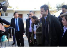Στη Λέσβο ο Μητσοτάκης - Θα επισκεφθεί τη Μόρια - Κεντρική Εικόνα