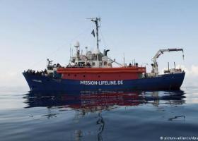 Έπειτα από μία εβδομάδα στη Μεσόγειο, το πλοίο Lifeline έφθασε στο λιμάνι της Βαλέτας - Κεντρική Εικόνα
