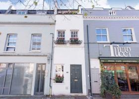 «Αστρονομικό» ποσό για το πιο στενό σπίτι του Λονδίνου, μήκους μόλις 2 μέτρων (pics) - Κεντρική Εικόνα