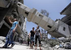 Παγκόσμια Τράπεζα: Η παλαιστινιακή οικονομία στη Λωρίδα της Γάζας καταρρέει - Κεντρική Εικόνα