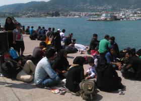 408 πρόσφυγες και μετανάστες αναχώρησαν το τελευταίο 24ωρο από τη Λέσβο  - Κεντρική Εικόνα