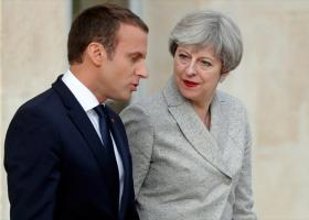 Μακρόν-Μέι: Η ΕΕ και η Βρετανία δεν «απέχουν τόσο πολύ» από μια τελική συμφωνία - Κεντρική Εικόνα