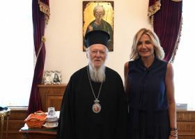 Το Οικουμενικό Πατριαρχείο επισκέφτηκε η Μαρέβα - Κεντρική Εικόνα
