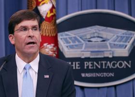 """Ο υπουργός Άμυνας δηλώνει ότι οι ΗΠΑ """"θα υπερασπιστούν τη διεθνή τάξη"""" που την υπονομεύει το Ιράν - Κεντρική Εικόνα"""