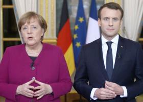 """Ο Μακρόν διαβεβαιώνει ότι το γαλλο-γερμανικό δίδυμο είναι """"όλο και πιο κοντά"""" - Κεντρική Εικόνα"""