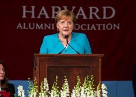 Έκκληση Μέρκελ για το κλίμα κατά την ομιλία της στο Χάρβαρντ - Κεντρική Εικόνα