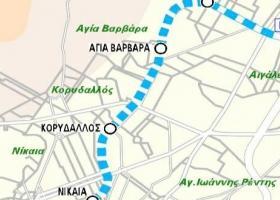 Σε λειτουργία τον Ιούνιο του 2019 οι τρεις σταθμοί της επέκτασης του Μετρό προς Πειραιά - Κεντρική Εικόνα