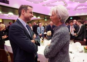 Ραντεβού Μητσοτάκη-Λαγκάρντ για προϋπολογισμό, τράπεζες και πλεονάσματα - Κεντρική Εικόνα