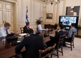 Τηλεδιάσκεψη Μητσοτάκη με εκπροσώπους 5 μεγάλων τεχνικών εταιρειών - Ποιοι συμμετείχαν και τι συμφωνήθηκε - Κεντρική Εικόνα