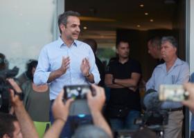 Μητσοτάκης: Ο λαός επέβαλε στον Τσίπρα να ζητήσει τη διάλυση της Βουλής - Κεντρική Εικόνα