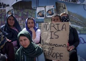 Μυτιλήνη: Νεκρός 24χρονος στον καταυλισμό της Μόριας - Κεντρική Εικόνα
