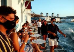Κορωνοϊός: Σε εφαρμογή από το πρωί τα περιοριστικά μέτρα σε Μύκονο και Χαλκιδική - Κεντρική Εικόνα