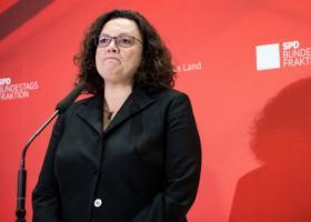 Αντρέα Νάλες: Άκρως απογοητευτικό το αποτέλεσμα για το SPD - Κεντρική Εικόνα
