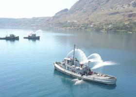 Άσκηση μείζονος ατυχήματος στον ναύσταθμο Κρήτης - Κεντρική Εικόνα