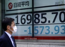 Ιαπωνία: Με μεγάλη πτώση λόγω κορωνοϊού έκλεισε το χρηματιστήριο - Κεντρική Εικόνα